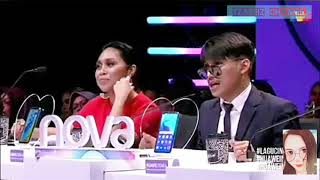 Hael Husaini dan Dayang Nurfaizah dibahan oleh Syamel dan Ernie Zakri dalam Program Lagu Cinta Kita