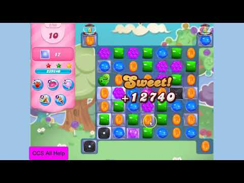 Candy Crush Saga Level 2795 New NO BOOSTERS Cookie