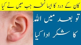 Ear Pain Treatment - Ear Infection And Pain Remove Just A Mint Home Made Remedy Free Of Cost