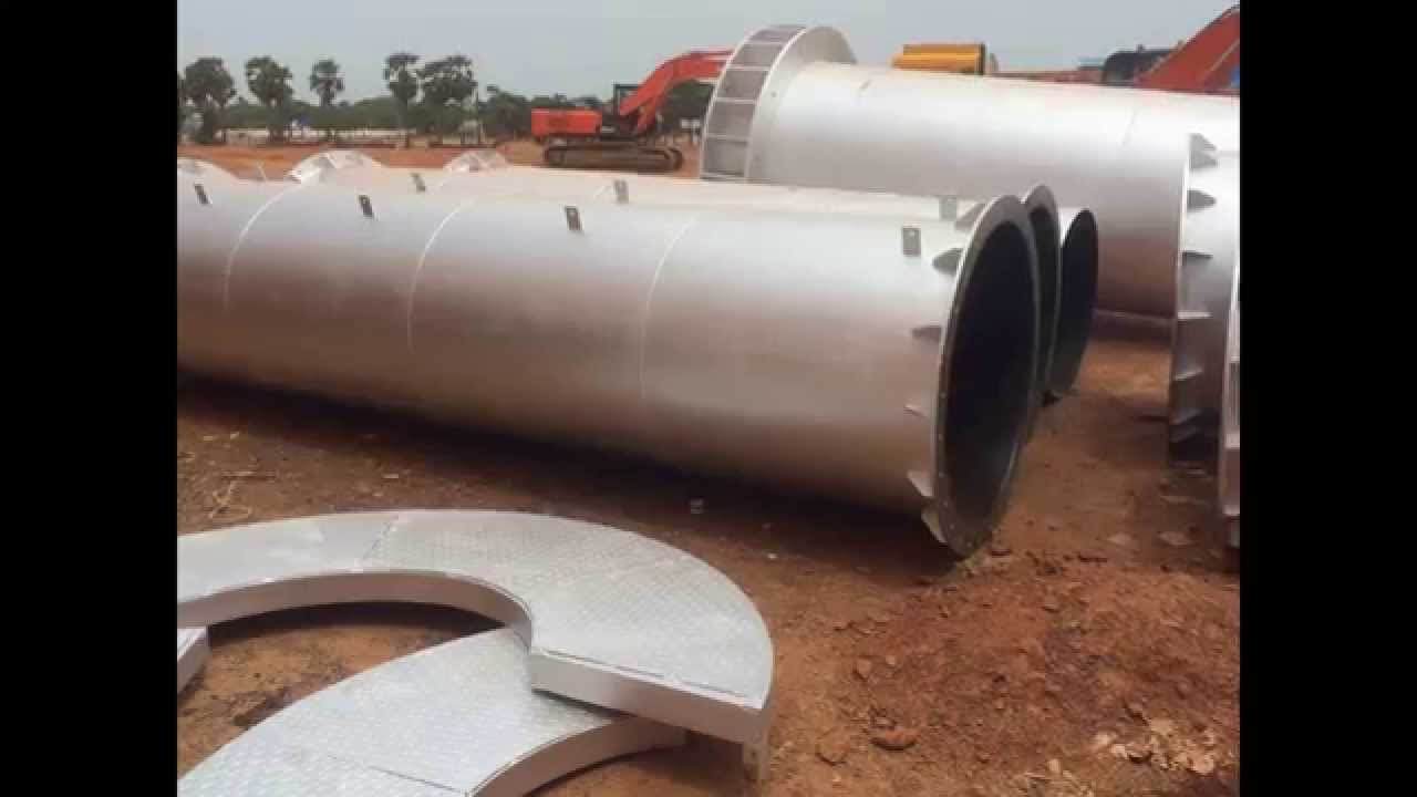 Tritherm Industrial boiler Chimney Manufacturers Fabrication work ...