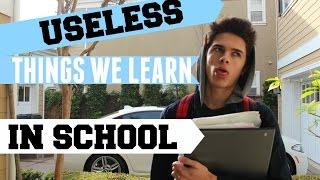 Useless Things We Learn In School   Brent Rivera thumbnail