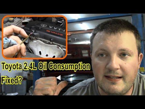 Toyota 2.4L Oil Consumption Repair Follow-up