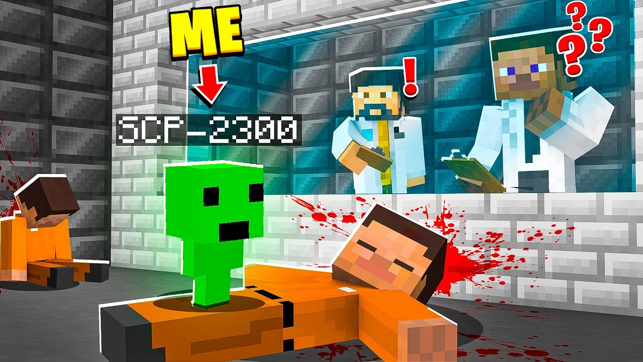 I Became SCP-2300 in MINECRAFT! - Minecraft Trolling Video