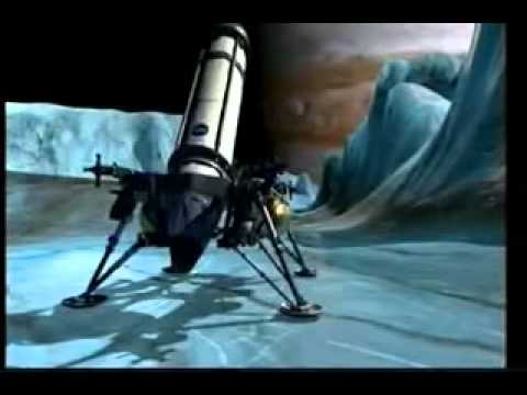 Europa NASA Ice-Penetrating Ocean Mission 2037 Animation