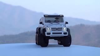 1/10 TRX-6 Mercedes Benz G63 Amg 6x6 White | First Run