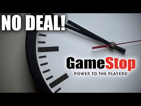 DISASTER! GameStop Buyout Deals Fall Through. What Now?