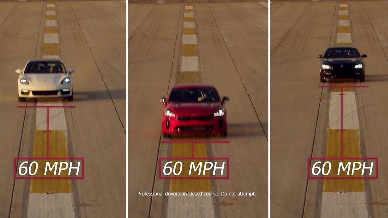 Kia Stinger Gt Vs Bmw  Series Vs Porsche Panamera Test Drive