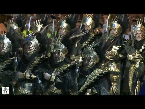 Desfile de Gala Moros y Cristianos Dénia 2018