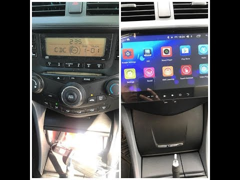 Review On Honda Accord 2003-2007 Aftermarket Stereo