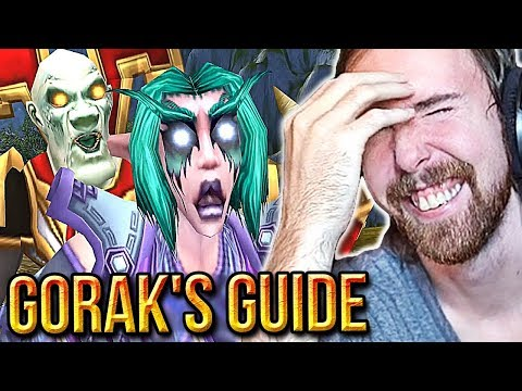 "Asmongold Reacts To More ""Gorak's Guide To Classic WoW"" Machinimas"