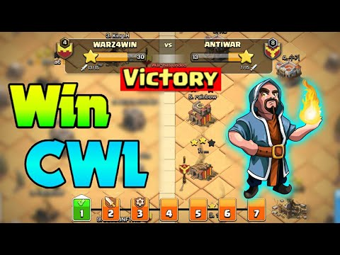 How To Win Every Clan War League   CWL Tips   Hindi   Clash Of Clans