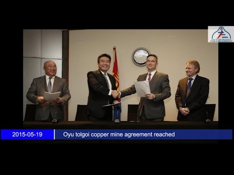 Oyu tolgoi copper mine agreement reached