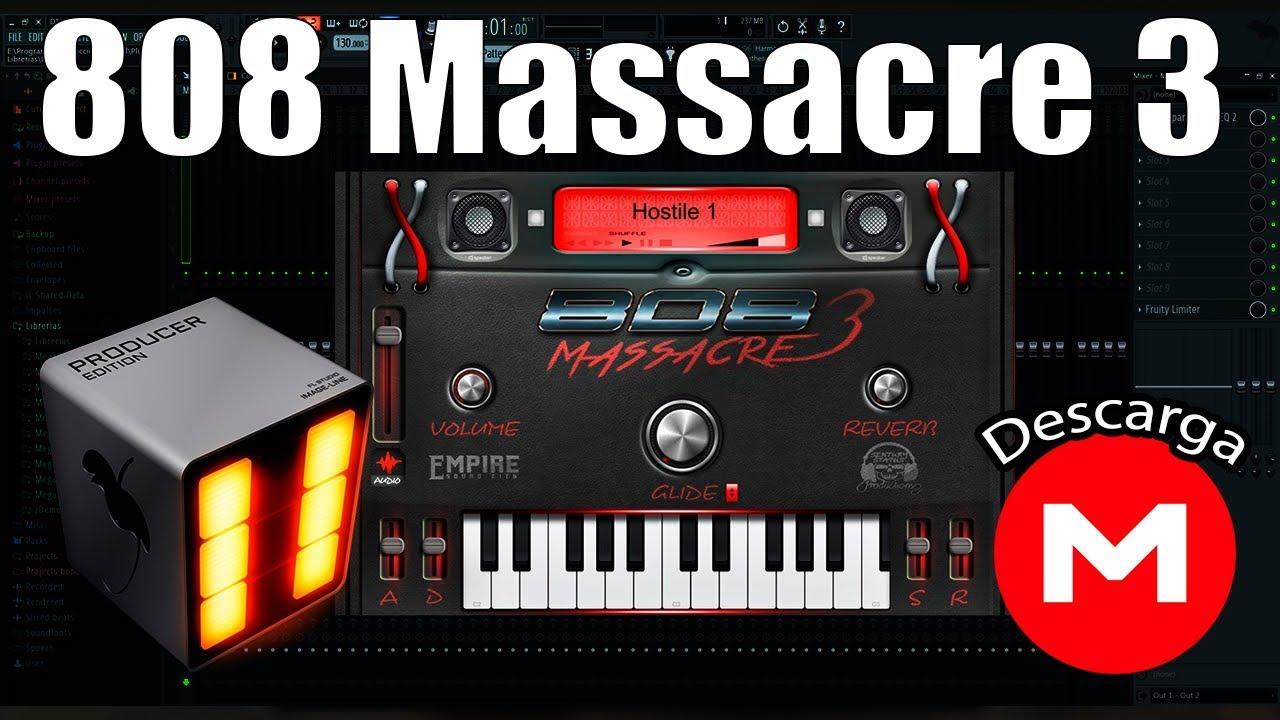 808 massacre 3 vst mega