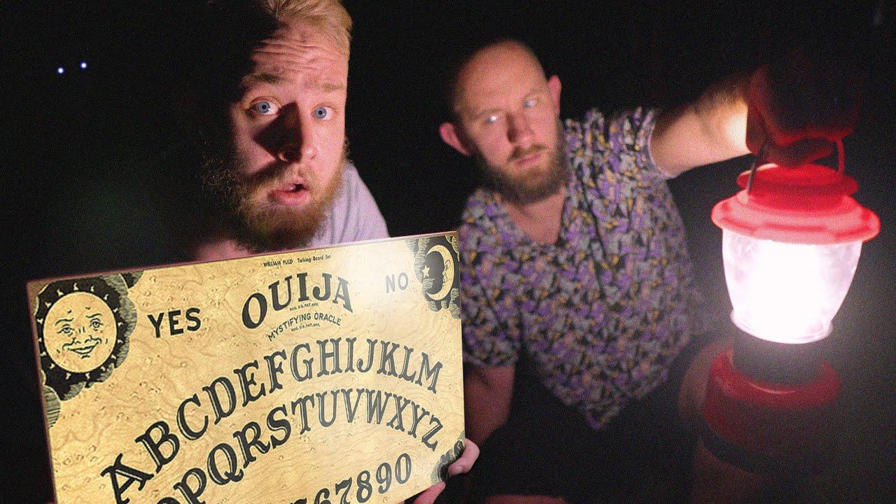 We Used A Ouija Board Overnight At Hi5 Studios!