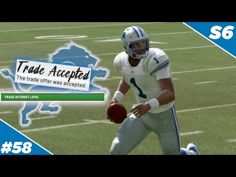 First Trade Of The Season Is Complete! - Detroit Lions | Madden NFL 20 - Ep 58