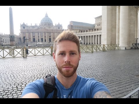 Exploring Rome! Pt 02. Vatican City. Travel Vlog 13.