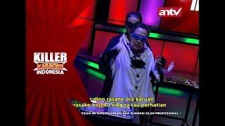Eka Sun tetap menyanyi dengan maksimal sambil menari! – Killer Karaoke Indonesia