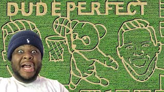 Dude Perfect Corn Mąze | Nerf Battle REACTION