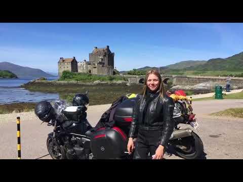 Motorradabenteuer Schottland! Eine Reisedokumentation! HD