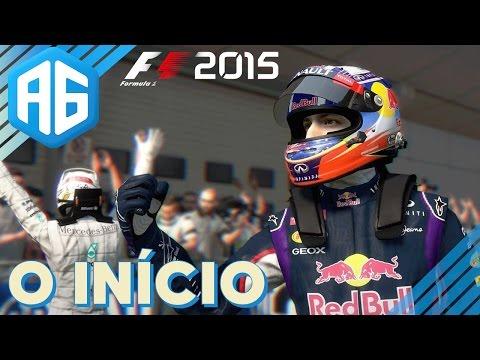 F1 2015 - #1 O INÍCIO - ESCOLHENDO A ESCUDERIA E O TREINO LIVRE (Português-BR)