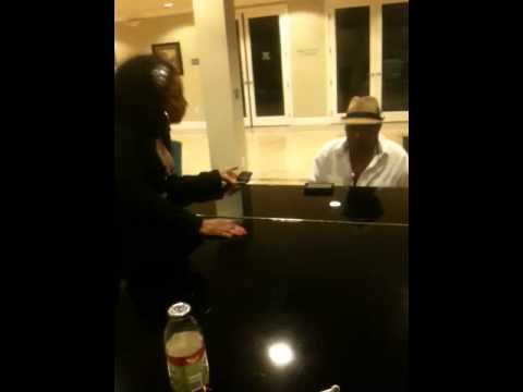Karyn White & O'Bryan/ exclusive private jam session!
