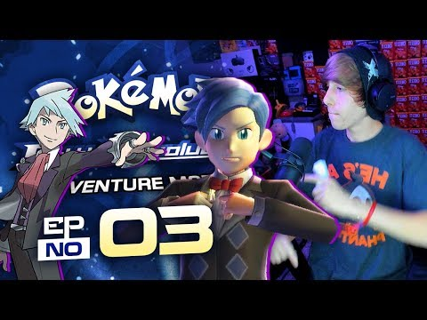 IT'S STEVEN!! - Pokemon Battle Revolution Lets Play w/ Astroid! EP 03!