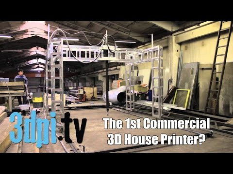 Thumbnail: Buy a 3D House Printer for €12,000
