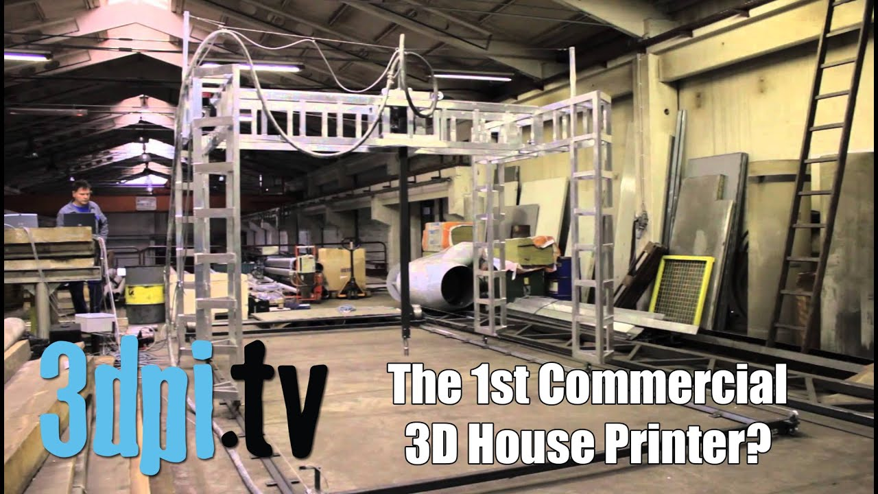 Buy a 3d house printer for 12 000 youtube - Buy 3d printed house ...