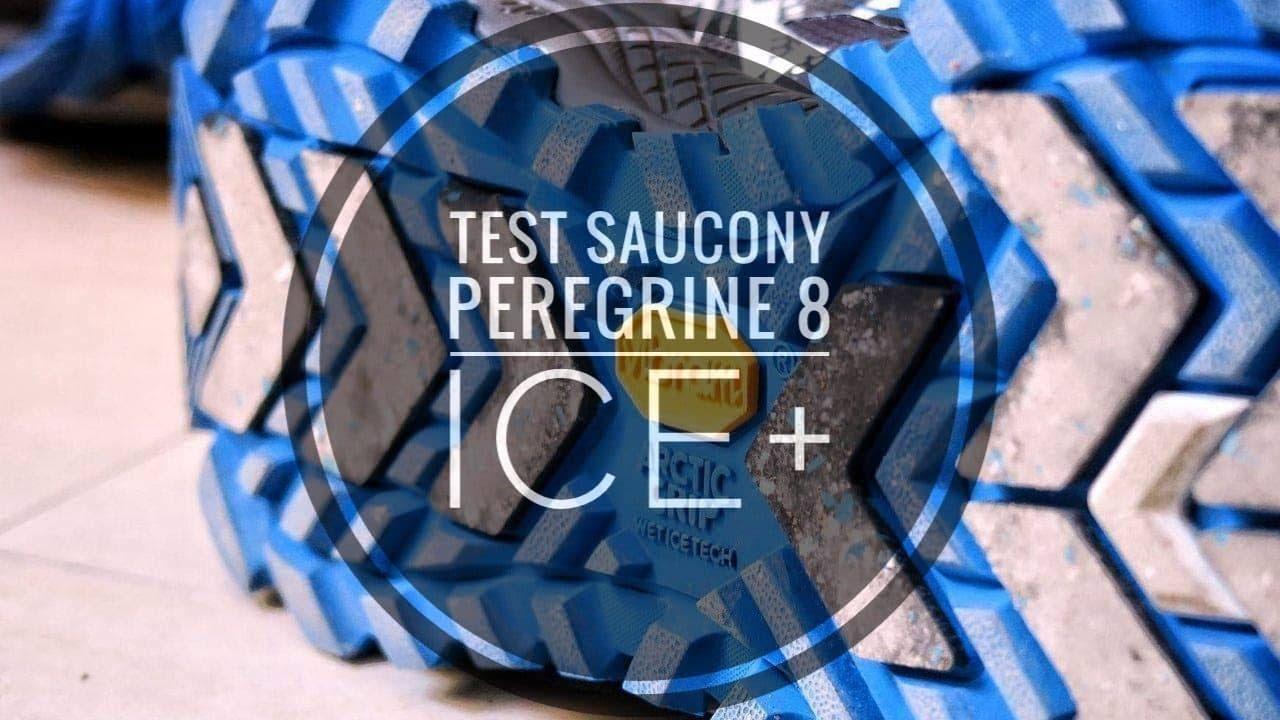Test Saucony Peregrine 8 ICE+ - YouTube