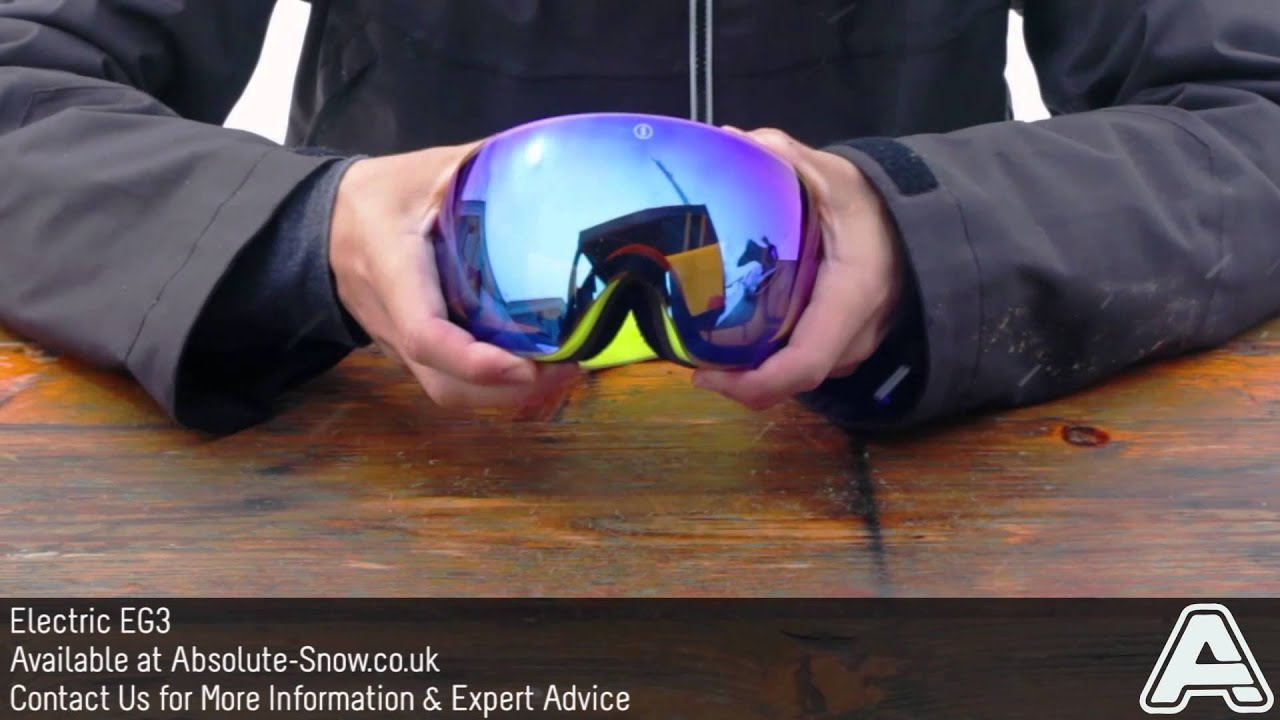 Electric Eg3 Goggles Video Review Youtube