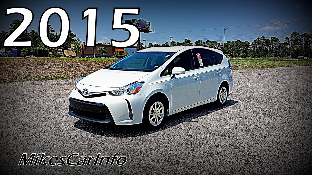 2015 toyota prius v youtube. Black Bedroom Furniture Sets. Home Design Ideas