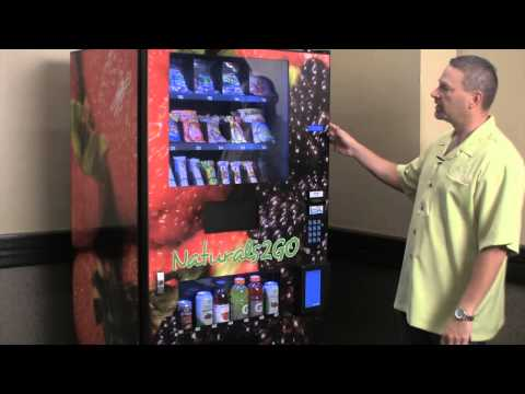 Naturals 2 Go Healthy Vending Machine Overview