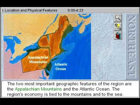 The North East States Location and Physical Features YouTube
