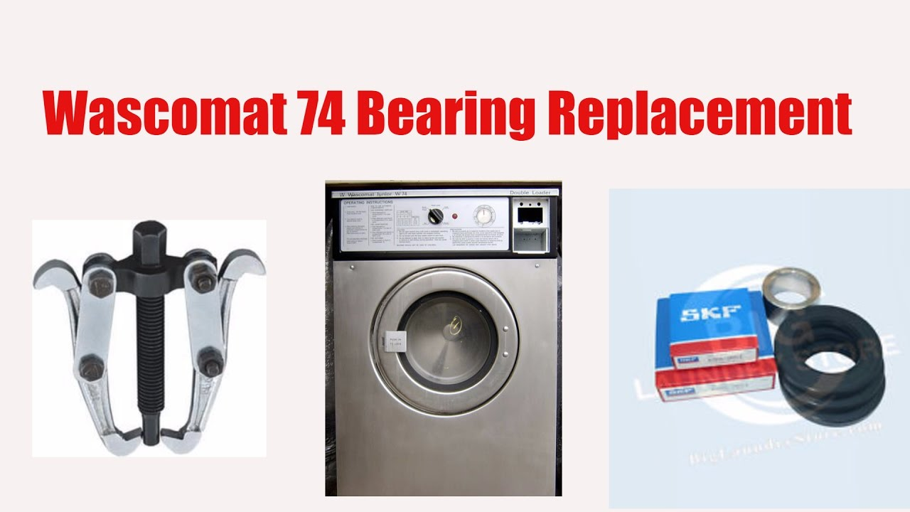 commercial washer bearing repair