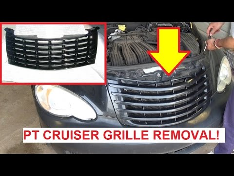 Chrysler Pt Cruiser GRILL GRILLE Removal And Replacement
