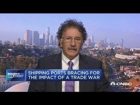 Shipping ports bracing for trade war impact