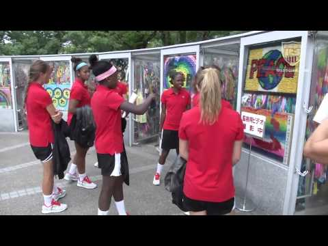 U.S. U-20 Women's National Team Honor History in Hiroshima