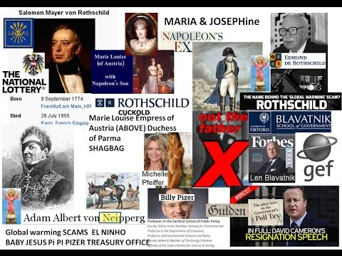 Napoleon's wife SHAGBAG for Salamon Rothschild's mates Blavatnik Gov UK Pfifer Global W food Scams