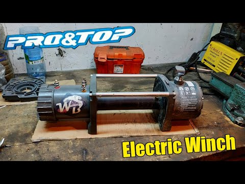 ПОЛОМКА и РЕМОНТ лебедки Wild Bear - PRO&TOP - Electric Winch - 12500lbs