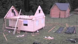 Строительство каркасной бани(Как построить каркасную баню своими руками - http://stroylab.su/karkasnaya-banya., 2014-06-30T14:47:24.000Z)