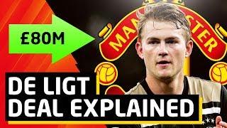 De Ligt Transfer Situation Explained United or Barca   Transfer Talk