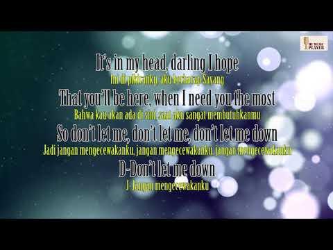 Don't Let Me Down The Chainsmokers  Lirik Video dan Terjemahan Indonesia