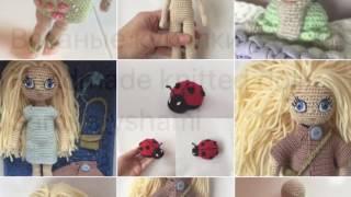 Knitted handmade dolls by sami_s_yshami. Вязаные куклы