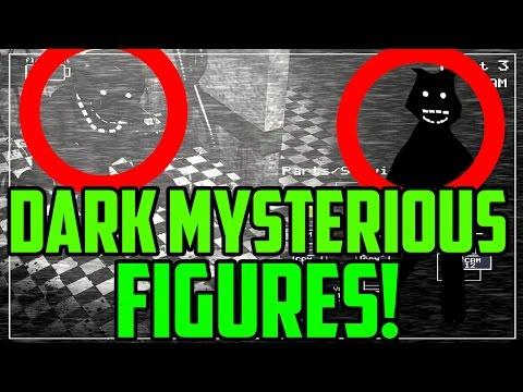 Five Nights at Freddy's 2: DARK MYSTERIOUS FIGURES FOUND! Dark Freddy Or Something Else?