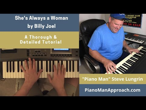 Shes Always A Woman Billy Joel Free Tutorial Youtube