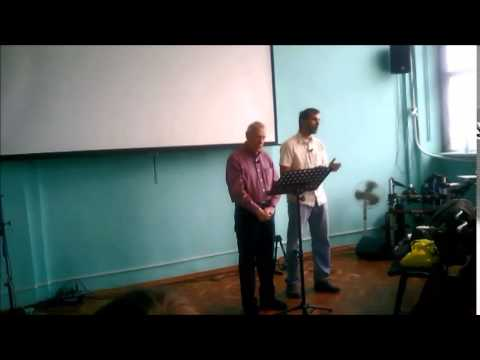 Philippians 1:12-14, Living Hope Church, Odessa, Ukraine -  Joy, Jack Sanders
