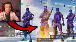 THIS is what happens when 4 OG SEASON 1 PLAYERS try competitive Fortnite! (super sweaty)