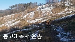 봉고3리 목재운송 ( 고다시 )