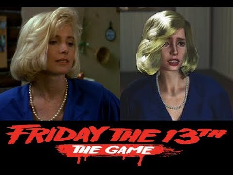 Friday the 13th The Game: The Counselors and Their Likenesses (including Victoria Sterling!)