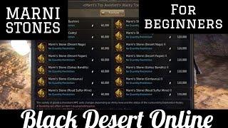 Black Desert Online [BDO] Beginners Guide: Marni Stones